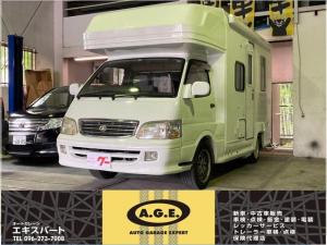 トヨタ ハイエースバン  キャンピングカー 冷蔵庫 トイレ シンク レンジ ベッド ナビ