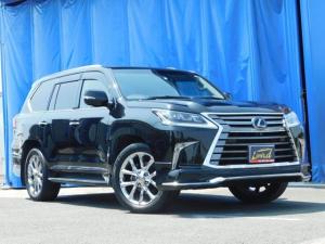 レクサス LX LX570 4WD アラウンドビューモニタ サンルーフ ナビTV DVD LEDヘッドライト シートヒーター クルーズコントロール パワーシート 純正21インチアルミ ETC