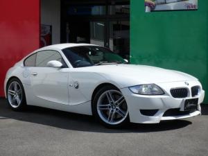 BMW Z4 Mクーペ 6速マニュアル 社外Fタワーバー 革パワーシート