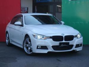 BMW 3シリーズ 320i Mスポーツ ターボ パドルシフト ハーフレザーパワーシート アイドリングストップ クルーズコントロール ナビ バックカメラ Bluetooth ETC オートHID 18inアルミ