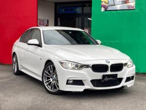 BMW 3シリーズ 320i Mスポーツ 純正OP19inアルミ ディーラー車 右ハンドル パドルシフト ターボ ナビ DVD Bluetoothオーディオ バックカメラ ETC ドラレコ ハーフレザーメモリー付きパワーシート オートHID