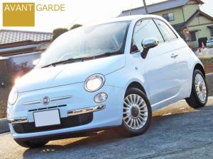 フィアット 500 1.2 8Vラウンジ新品カバナシート新品国産タイヤ新品マット