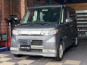 ダイハツ タント カスタムL HIDヘッドライト キーレス CD 電動格納ウィンカーミラー ベンチシート 左側スライドドア 左側センターピラーレス バイザー プライバシーガラス