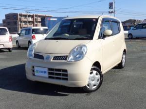 日産 モコ S ワンセグナビ・CD・バックカメラ・ベンチシート・フルフラット・電動格納ミラー・キーレス