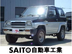 ダイハツ ロッキー SX エンケイBAJA 4WD 前期型 5速マニュアル