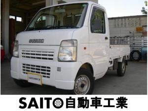 スズキ キャリイトラック KCエアコン・パワステ パートタイム4WD 5速マニュアル