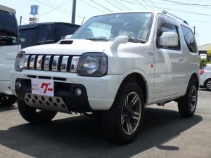 スズキ ジムニー ワイルドウインド 4WD ターボ ルーフレール 背面タイヤ