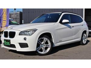 BMW X1 xDrive 20i Mスポーツ コンフォートアクセス キセノン オートライト ミラー型ETC プライバシーガラス 純正アルミ 4WD アイドリングストップ スマートキー プッシュスタート