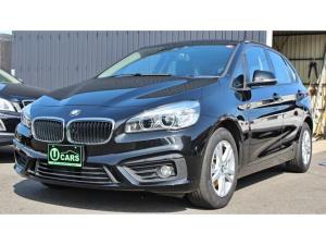 BMW 2シリーズ 218dアクティブツアラー クリーンディーゼル ナビ アダクティブクルーズ 禁煙車 レーンモニター オートライト 純正アルミ ミラー型ETC キセノン スマートキー パワーバックドア 衝突軽減