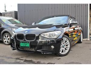 BMW 1シリーズ 116i Mスポーツ 純正HDDナビ アイドリングストップ スマートキー プッシュスタート キセノン オートライト 禁煙車 M専用純正アルミ ミラー型ETC ミージュックサーバー