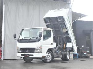 三菱ふそう キャンター ダンプ 3t積載 全低床 荷台塗装済 ETC 4.9Lディーゼルターボ