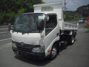 トヨタ ダイナトラック 全低床 2トンダンプ 塗装済 5速MT