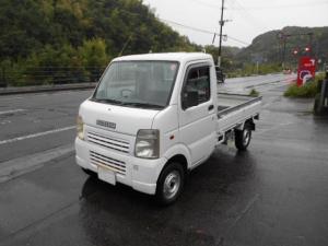 スズキ キャリイトラック 切替式4WD エアコン パワステ 5速MT