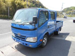 トヨタ ダイナトラック Wキャブロングフルジャストロー ダブルキャブ 塗装済 荷台内寸210x160cm シートカバー新品