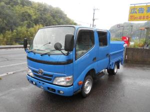 トヨタ ダイナトラック Wキャブロングジャストロー ダブルキャブ パワーゲート Wキャブパワーゲート 塗装済 小型貨物(4ナンバー) 荷台内寸205x161cm