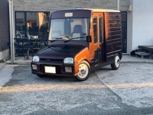 ダイハツ ミラウォークスルーバン 移動販売車 ターボ 4AT 移動販売車 シンクキッチン