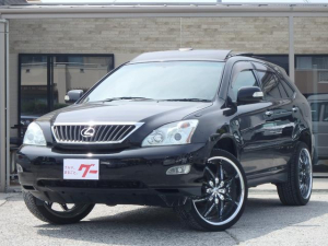 トヨタ ハリアー 240G Lパッケージ サンルーフ 黒革 22インチアルミ