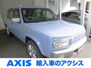 日産 ラシーン タイプA 5速マニュアル 4WD ナビTV