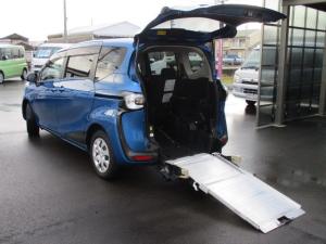 トヨタ シエンタ ウェルキャブ 福祉車両 スロープ&助手席リフトアップシート
