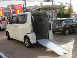 ホンダ N-BOX+ G・Lパッケージ 4WD スローパー 福祉車両 電動ウインチ 車いす固定装置 ナビ バックカメラ ETC シートヒーター