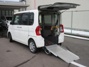 ダイハツ タント L スロープ 福祉車両 電動ウインチ 車いす固定装置手動タイプ CDオーディオ