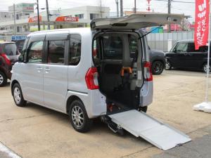 ダイハツ タント L スロープ SA3 福祉車両 電動ウインチ 車いす固定装置手動タイプ ウインチリモコン 手すり付き