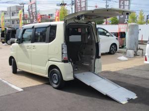 ホンダ N-BOX+ G・Lパッケージ 4WD スローパー 福祉車両 車いす1台 電動ウインチ 車いす固定装置手動タイプ