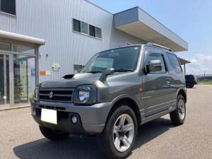 スズキ ジムニー ランドベンチャー パートタイム4WD シ-トヒ-タ- 本革シート キーレスキー AC ABS付