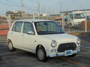 ダイハツ ミラジーノ ジーノ 4WD  キーレス タイミングベルト交換済み 白