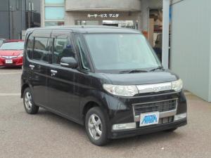 ダイハツ タント カスタムL 4WD キーレス 黒色 左スライドドア ブラック