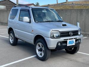 マツダ AZオフロード XC 4WD 2インチリフトアップ タイミングチェーン 内外装3つ星