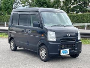 マツダ スクラム バスター 4WD フロア5速 パワーウインド キーレス ナビTV アルミホイール タイミングチェーン 内外装三つ星
