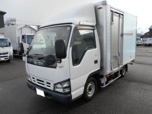 いすゞ エルフトラック アルミバン 超低床1.45t 日本フルハーフ製