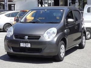 トヨタ パッソ X クツロギ スマートキー ABS エアバック CD