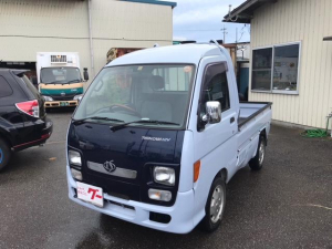 ダイハツ ハイゼットトラック is 4WD ハイルーフ 社外CD MD付