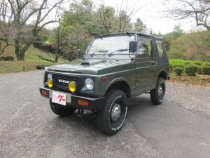 スズキ ジムニー CC 幌 4WD リフトUP公認車 社外クリムソンホイール ホワイトレタータイヤ付き