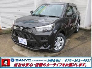 トヨタ ライズ X S登録済未使用車4WD地デジナビCD録音Bカメラ