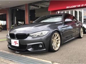 BMW 4シリーズ 435iクーペ Mスポーツ 鍛造19インチAW Mパフォーマンスマフラー 車高調 フロントスポイラー 純正HDDナビ フルセグTV バックカメラ 本革パワーシート キセノン
