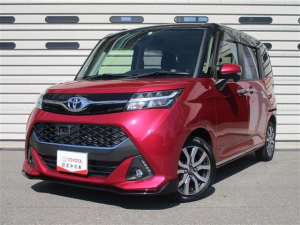 トヨタ タンク カスタムG-T オートエアコン LEDヘッドランプ クルーズコントロール 両側パワースライドドア バックモニター