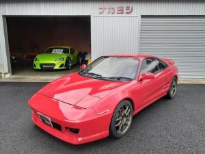 トヨタ MR2 GT/ローダウン・ターボ・CD・基本装備・5MT
