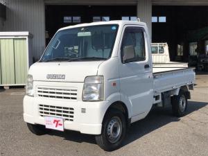 スズキ キャリイトラック KCエアコン・パワステ 4WD AT 修復歴無 新品タイヤ