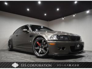 BMW M3 M3クーペ 6速MT・サンルーフ・カーボンリップスポイラー・カーボンリヤディフューザー・RAYSTE37・車高調・CSLトランク・ARCフロントタワーバー・リヤタワーバー・LEDイカリング
