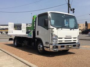 いすゞ エルフトラック 積載車 エスライド フルフラット キャリアカー