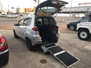 マツダ デミオ コージー 福祉車両 車椅子スローパー キーレス CD