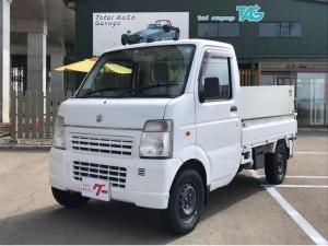 スズキ キャリイトラック 5速マニュアル 4WD エアコン パワステ パワーリフト付