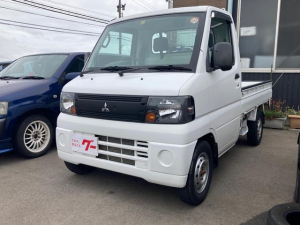 三菱 ミニキャブトラック Vタイプ 5MT パワステ エアコン 4WD 検R5年6月迄