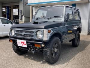 スズキ ジムニー HA 4WD ターボ 5速マニュアル 16インチAW 社外F・Rバンパー ETC