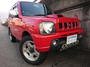 スズキ ジムニー XC オートマ 4WD アンタレスレッド