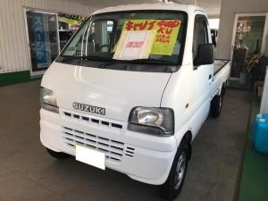 スズキ キャリイトラック KU 4WD 三方開 5速マニュアル車 エアコン 軽トラック