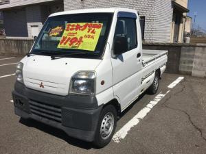 三菱 ミニキャブトラック TL 4WD エアコン パワステ マニュアル車 ラジオ